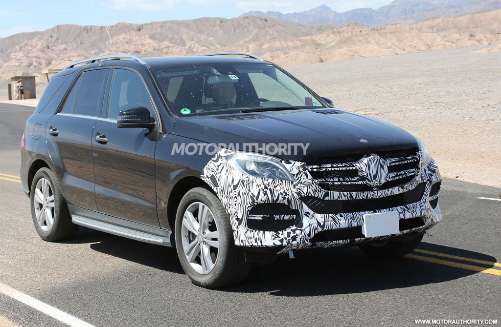Latest spy shots of 2015 mercedes benz m class emerge for Mercedes benz x6 for sale