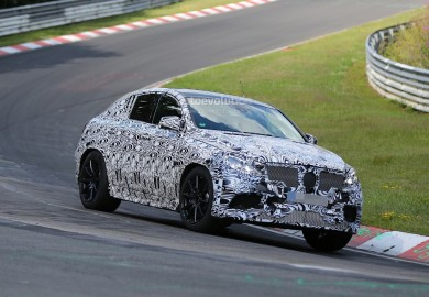 Mercedes-Benz ML Coupe Tested In Germany And The United States