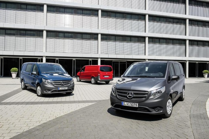Latest Mercedes-Benz Vito Officially Launched