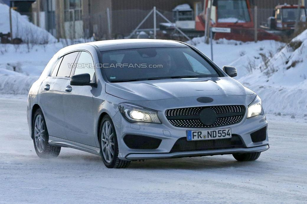 51 Mercedes Benz CLA Shooting Brake To Be Unveiled Next Year