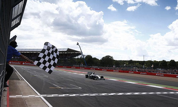 F1 Mercedes AMG Petronas Lewis Hamilton wins 2014 British Grand Prix Lewis Hamilton wins British GP for Mercedes