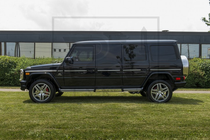 INKAS Armored Mercedes-Benz G63 Limo