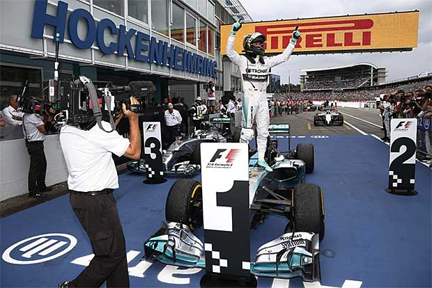 Mercedes-AMG-Petronas-F1-driver-Nico-Rosberg-celebrates-2014-German-Grand-Prix-win