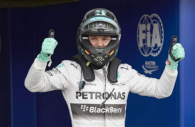 Mercedes AMG Petronas Nico Rosberg pole position 2014 British Grand Prix Rosberg wins pole position in 2014 British GP