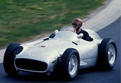 Mercedes W196 at 1954 French Grand Prix