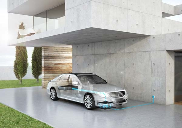 daimler and bmw wireless ev charger