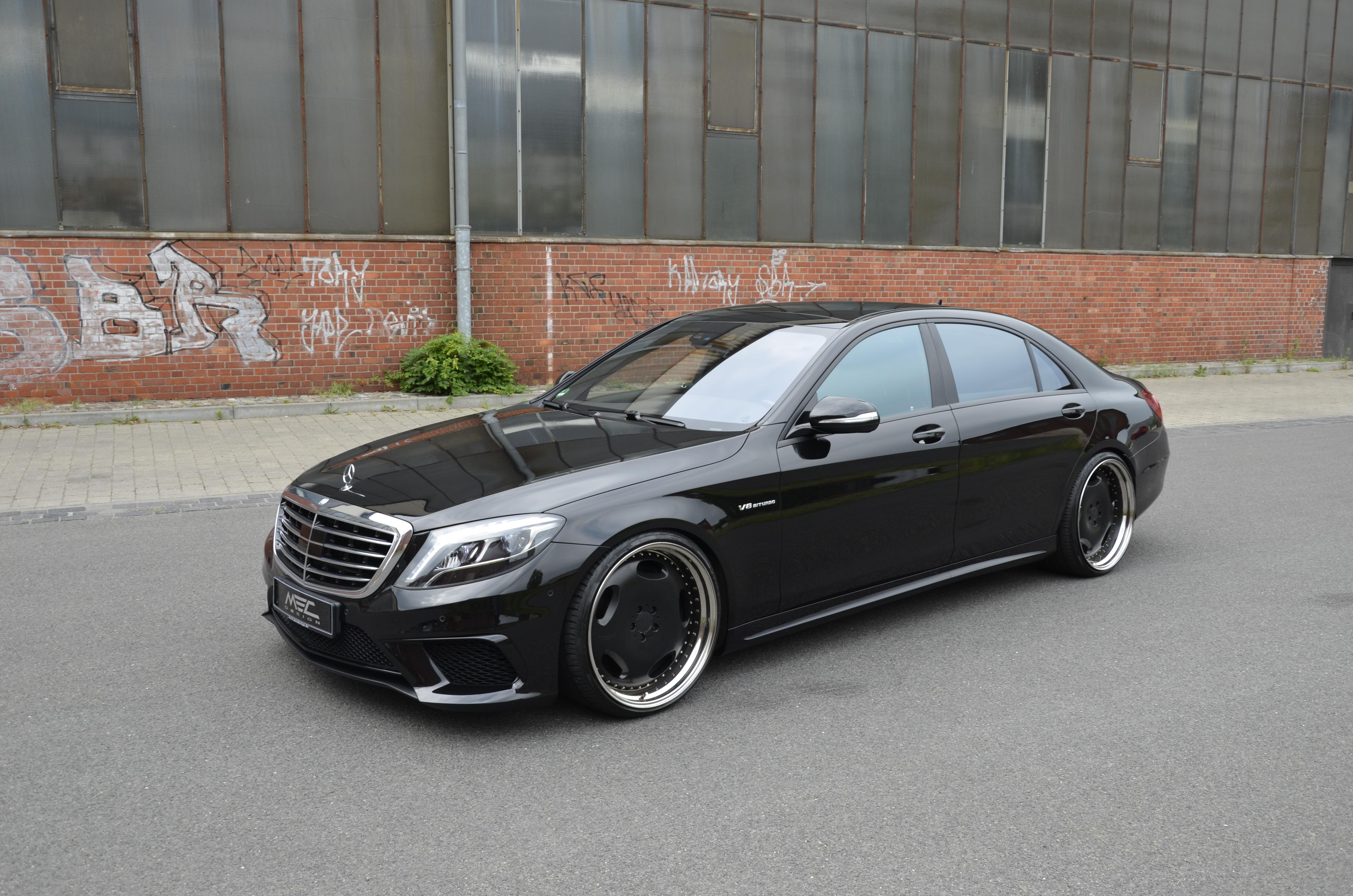 Mec Design Releases New Mods For The Mercedes S63 Amg Benzinsider