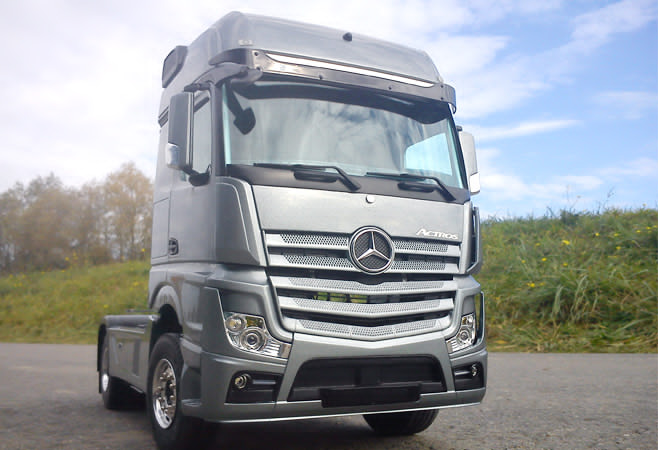 mercedes actros 1 Mercedes Actros Gets the Fleet Truck of the Year 2014 Award