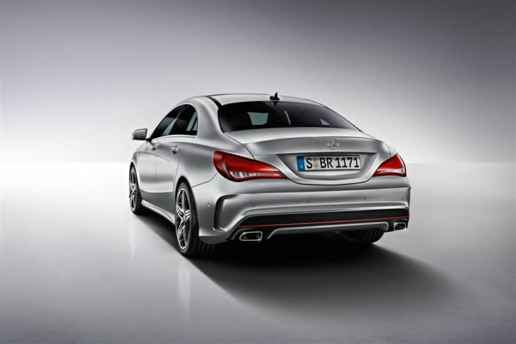 mercedes cla with sport package plus 2 a mercedes benz fan blog. Black Bedroom Furniture Sets. Home Design Ideas
