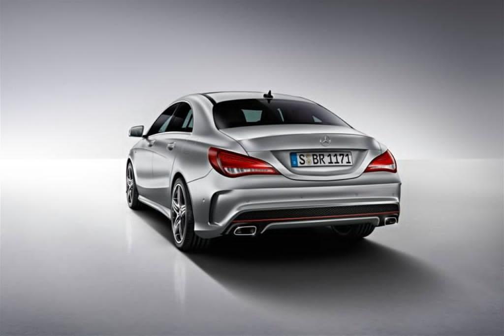 Mercedes Cla With Sport Package Plus 2 Benzinsider Com