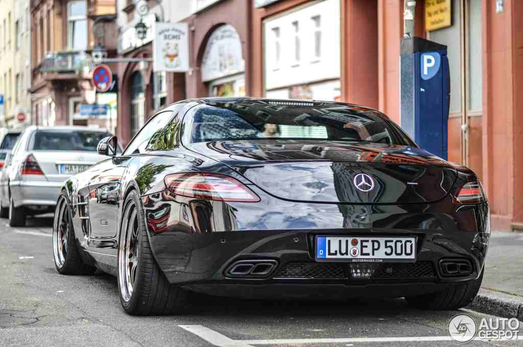 Kicherer Gives the Mercedes SLS AMG a Mean Facelift