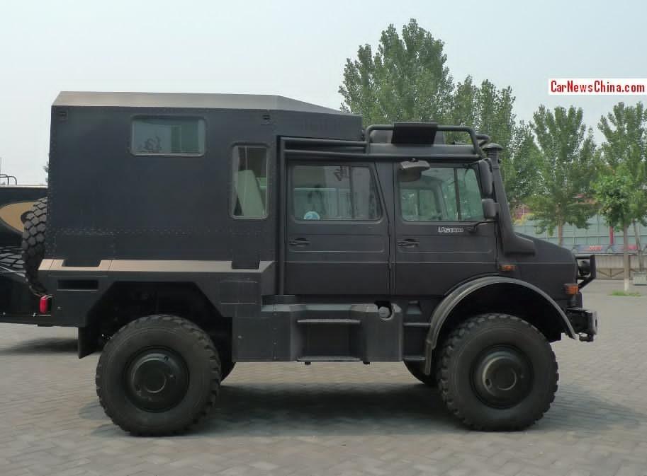 Camping Car Unimog Mercedes