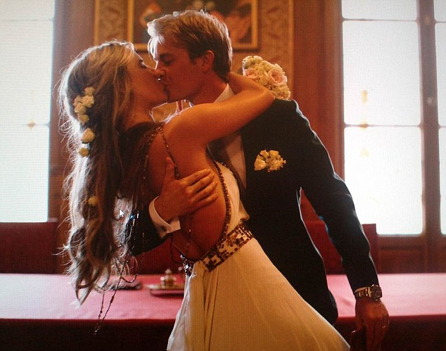 rosberg gets married