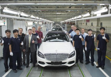 First 2015 Mercedes-Benz C-Class Long Wheelbase Rolls Off Chinese Facility