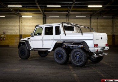 Carlsson Enhances Mercedes-Benz CG63 AMG 6×6
