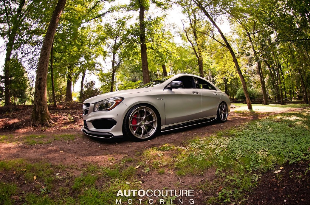mercedes benz cla 45 amg tuned by autocouture motoring. Black Bedroom Furniture Sets. Home Design Ideas