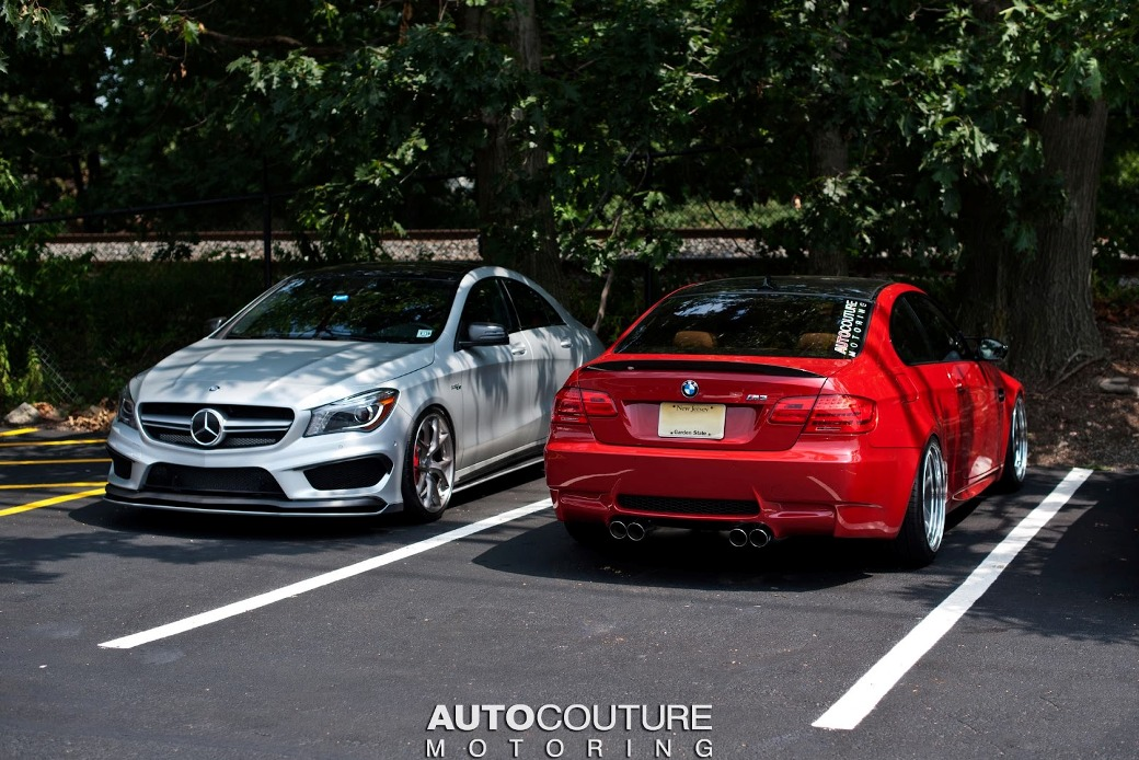 mercedes-benz cla 45 amg tuned by autocouture motoring - benzinsider com