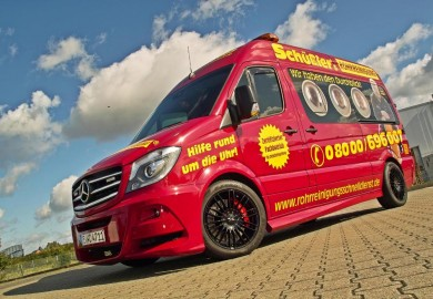 Mercedes-Benz Sprinter Enhanced By Hartmann