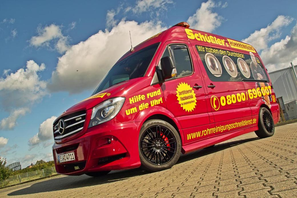 Mercedes Benz Sprinter Enhanced By Hartmann Benzinsider