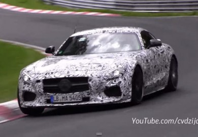Latest Video Of Mercedes-Benz AMG GT Prototype