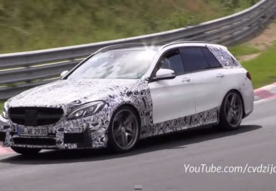 Video Of 2015 Mercedes-Benz C63 AMG Estate Emerges