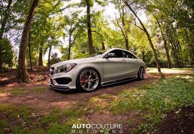 Mercedes-Benz CLA 45 AMG Tuned By AutoCouture Motoring