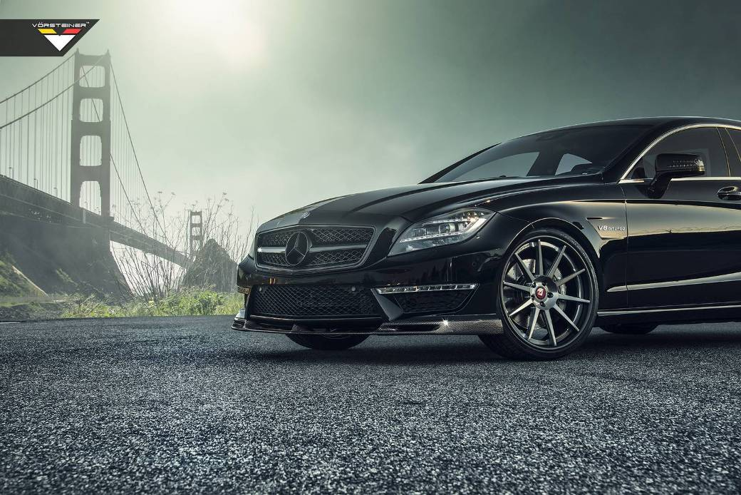 Images of Vorsteiner-Tuned Mercedes-Benz CLS63 AMG Unveiled