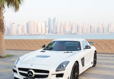 Royal Customs Creates A Black Series Body Kit For The Mercedes-Benz SLS AMG