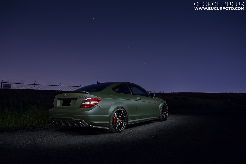 Mercedes C63 AMG Given a Stage 3 Mod by Skyline Speed Tuning