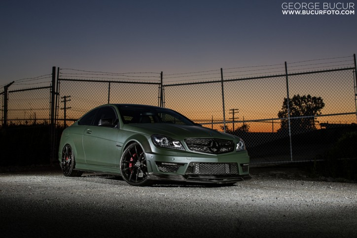 Mercedes C63 AMG with stage 3 tuning (7)