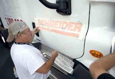 3 millionth truck of Daimler