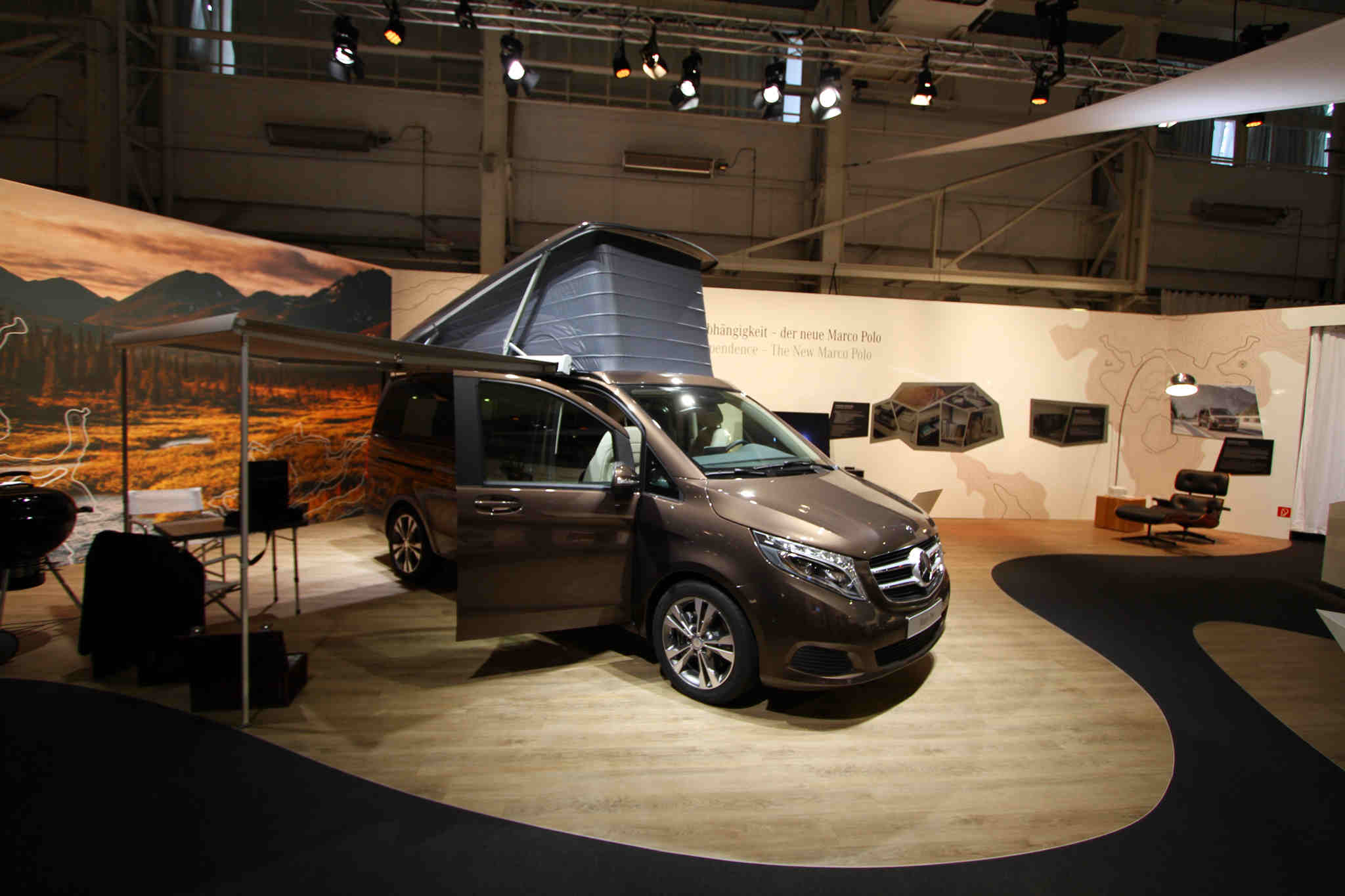 Mercedes Benz Marco Polo Makes Everywhere Extraordinary