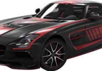 mercedes sls amg black series in driveclub