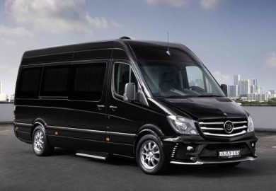 mercedes sprinter van tuned by brabus