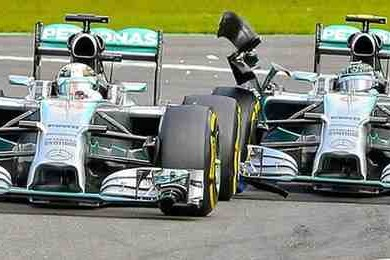 rosberg clashes with hamilton