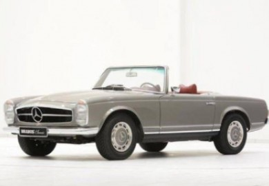 Mercedes-Benz SL 280 Pagoda Put Up For Sale