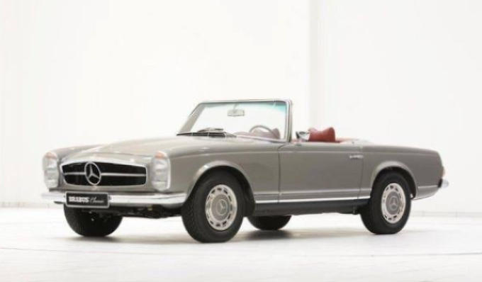 Mercedes benz sl 280 pagoda put up for sale benzinsider for Mercedes benz sl280 for sale