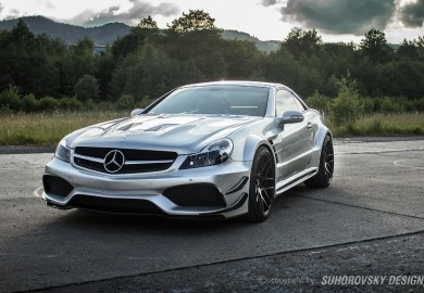 Suhorovsky Design Tunes Mercedes-Benz SL