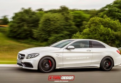 Rendering Of Mercedes-Benz AMG C63 S Emerges