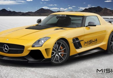 Misha Design Previews Mercedes-Benz SLS AMG Aftermarket Body Kit