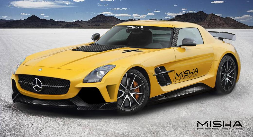 Misha Design Previews Mercedes Benz Sls Amg Aftermarket