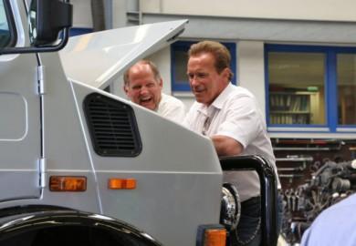 1977 Mercedes-Benz Unimog U1300 Of Arnold Schwarzenegger Available In The Market