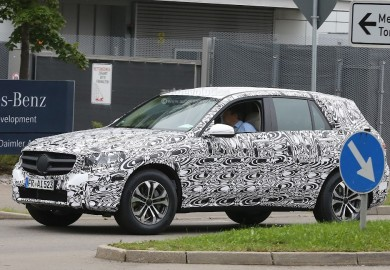 Latest Images Of Upcoming Mercedes-Benz GLK Emerge Recntly