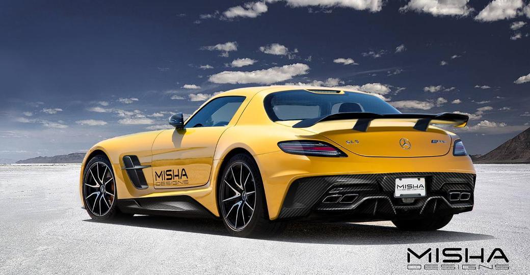 Mercedes Benz Sls Amg For Sale >> Misha Design Previews Mercedes-Benz SLS AMG Aftermarket Body Kit - BenzInsider.com - A Mercedes ...