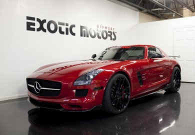Mercedes-Benz SLS AMG Tuned By Renntech Available In The Market