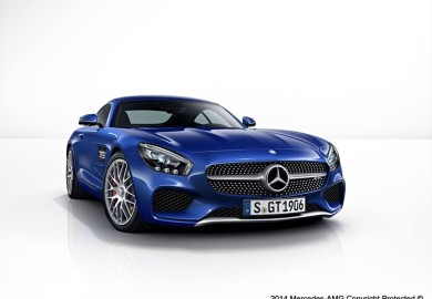 Color Palette For Mercedes-Benz AMG GT Unveiled