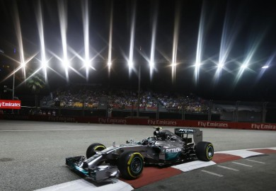 Singapore Grand Prix Mercedes AMG Petronas