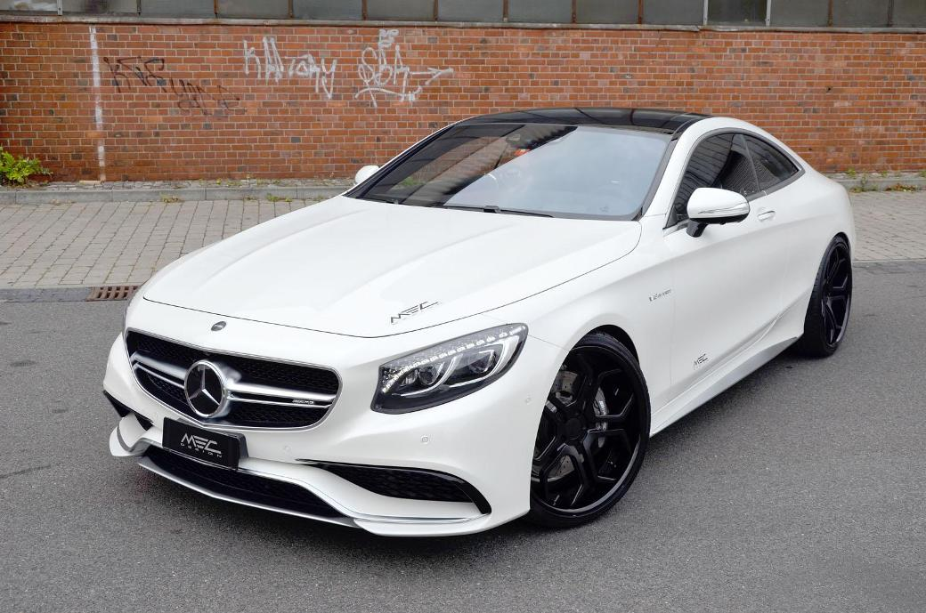 Mercedes-Benz S63 AMG Coupe Upgraded Again By MEC Design ...