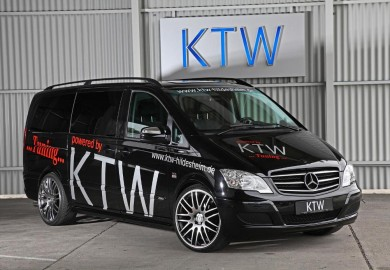 KTW Tuning Enhances Mercedes-Benz Viano