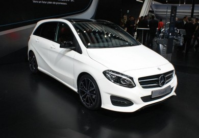 Face-lifted Mercedes-Benz B-Class Makes An Appearance In Paris